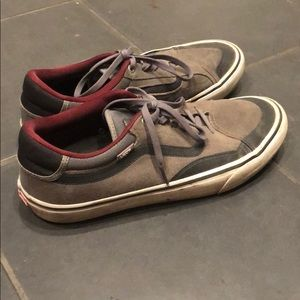 Vans pro skate gray black size 11 men's shoes